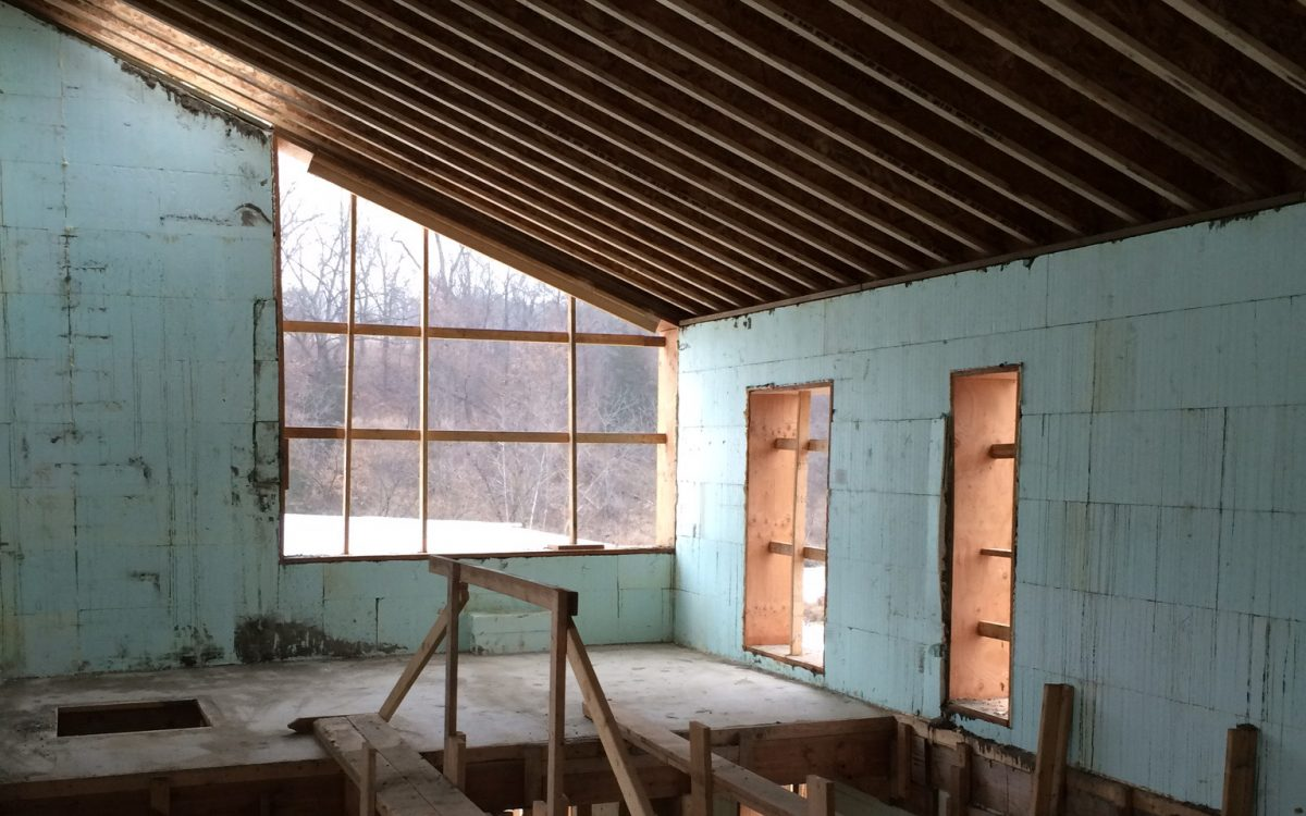 Construction Progress: Interior Photos